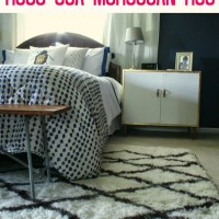 Master Bedroom Updates: New Nightstands and A Rugs USA Moroccan R