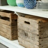 Organize Me Pretty: Using Vintage In the Kitchen
