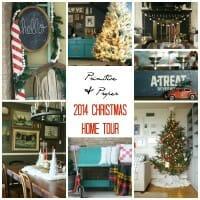 My 2014 Blogger Stylin Christmas Home Tour