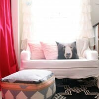 Emmy's Room Updates: Slipcovered Settee & Rugs USA Rug