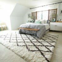 Modern Bohemian Master Bedroom Reveal (with a Giveaway!)