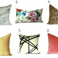 My Favorite Pillow Source: Stuck On Hue