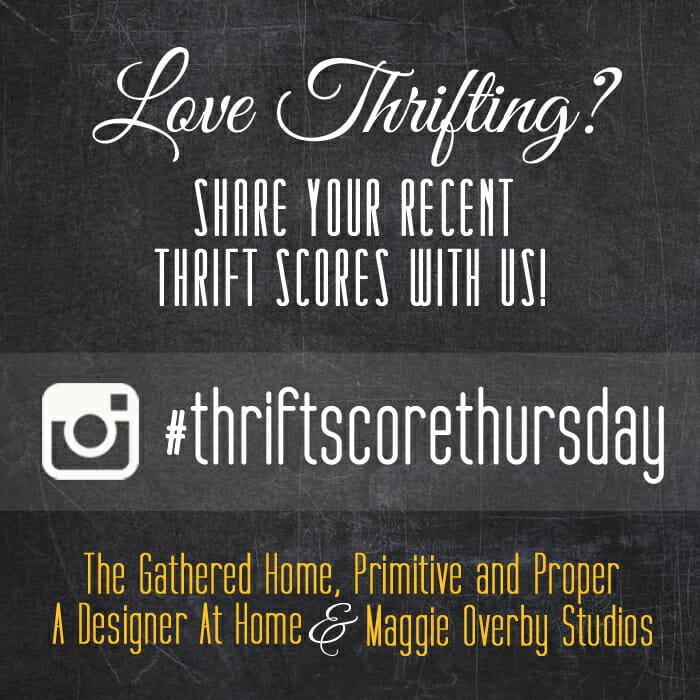 thrift score thursday12