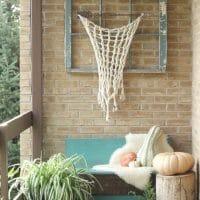 My Bohemian Fall Porch & Brunch Setting