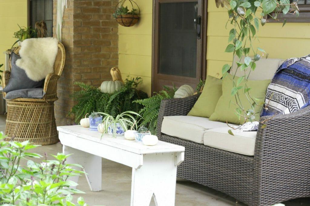 fall-wicker-seating-bohemian-porch-patio