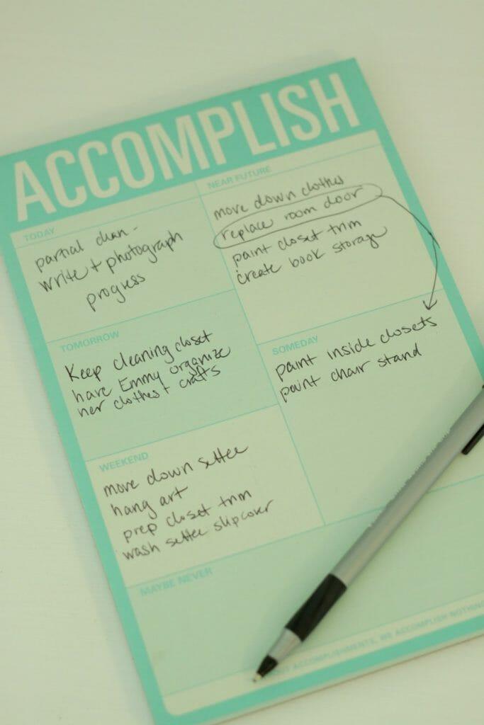 Accomplish Notepad