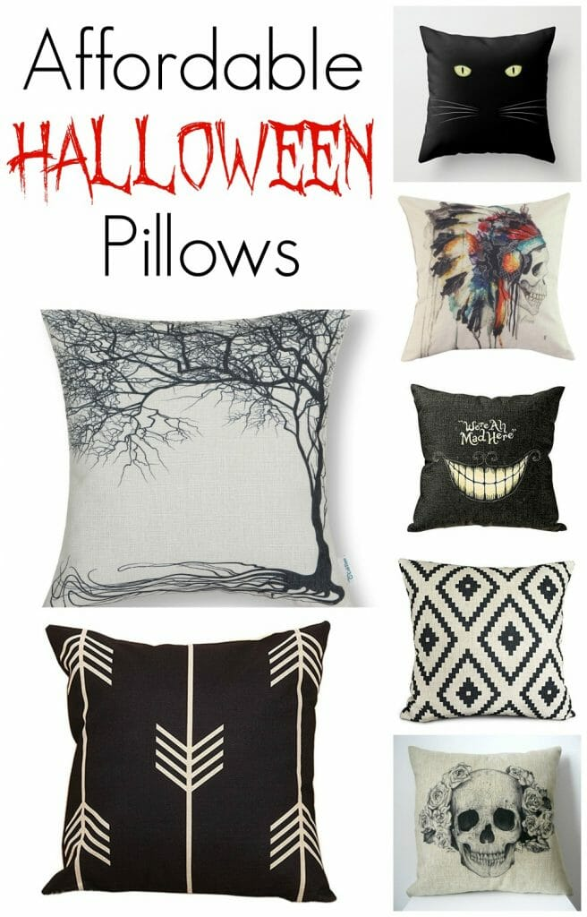 Affordable Halloween Pillows