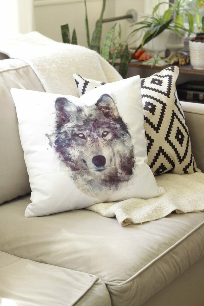 Wold Pillow from Amazon