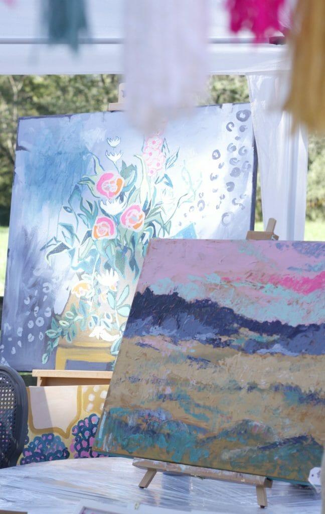 beautiful original paintings- nest fest