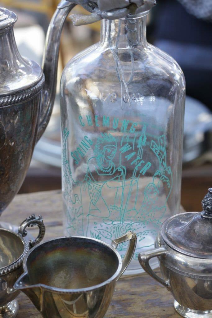 vintage bottles nest fest