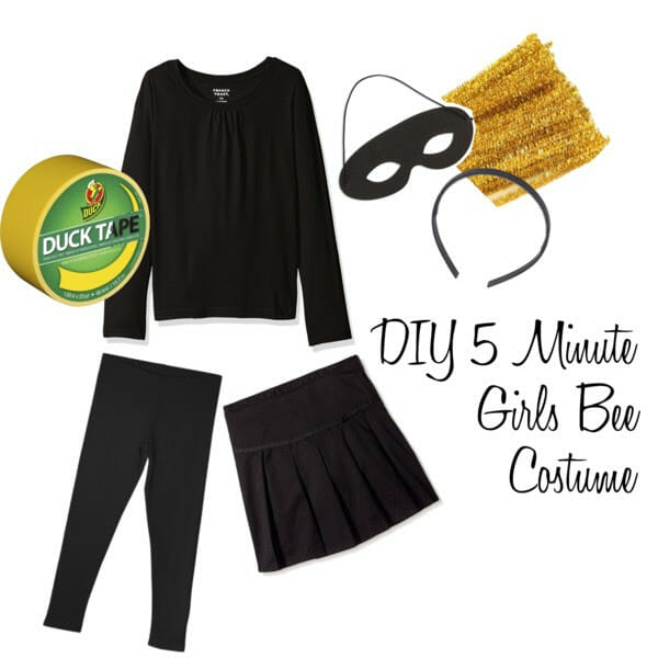 DIY Girls Bee Costumer