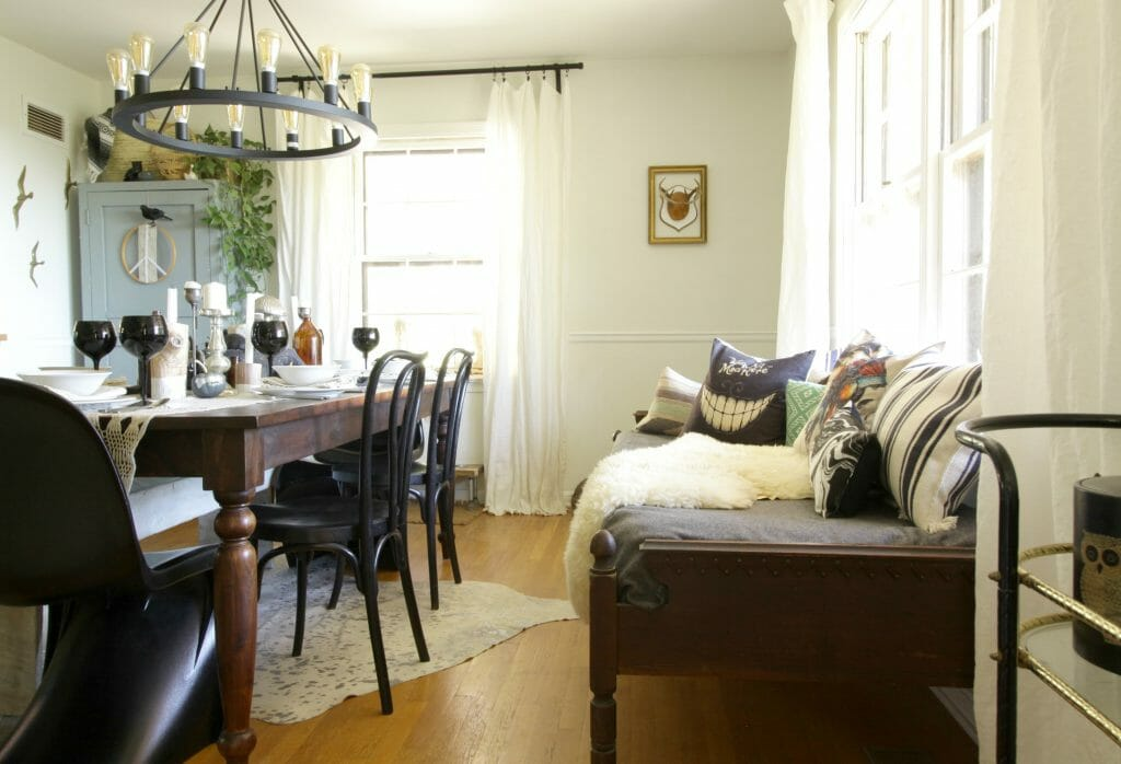 Eclectic Vintage Dining Room