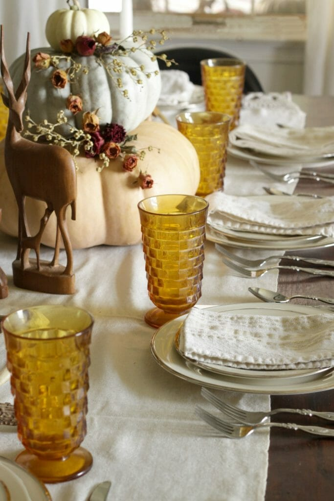 Bohemian Fall Tablescape