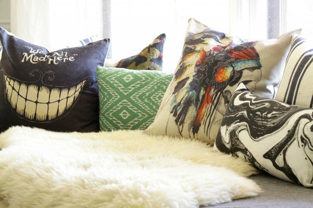Halloween Mix of Pillows