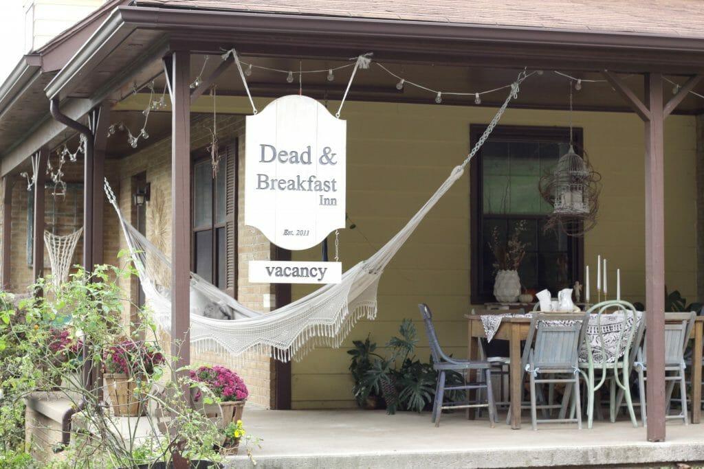 Halloween Style Porch