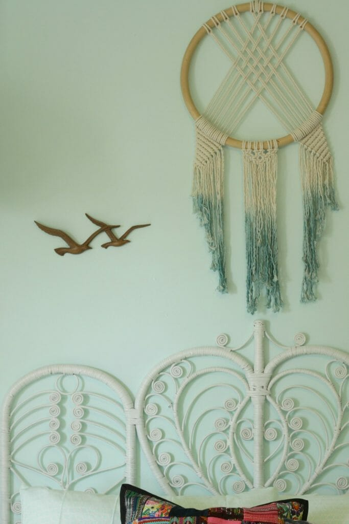 Macrame Wall Hanging Over Bed