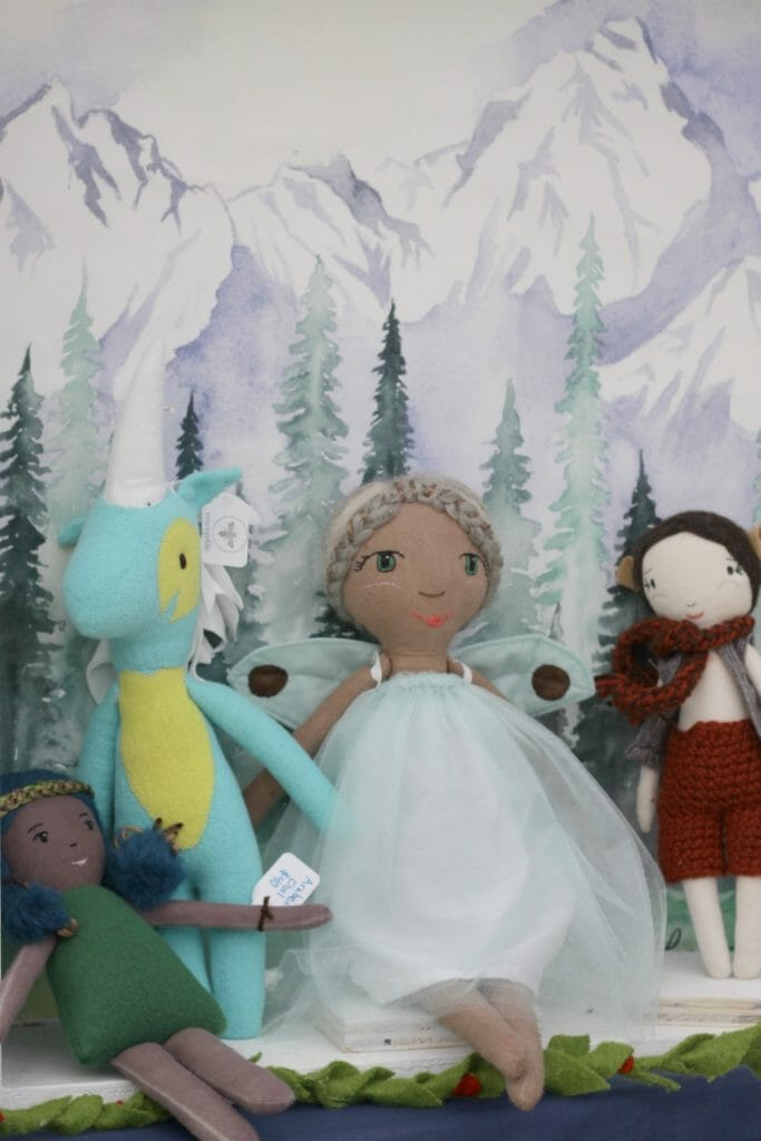 Felted Fairy Dolls at Nest Fest
