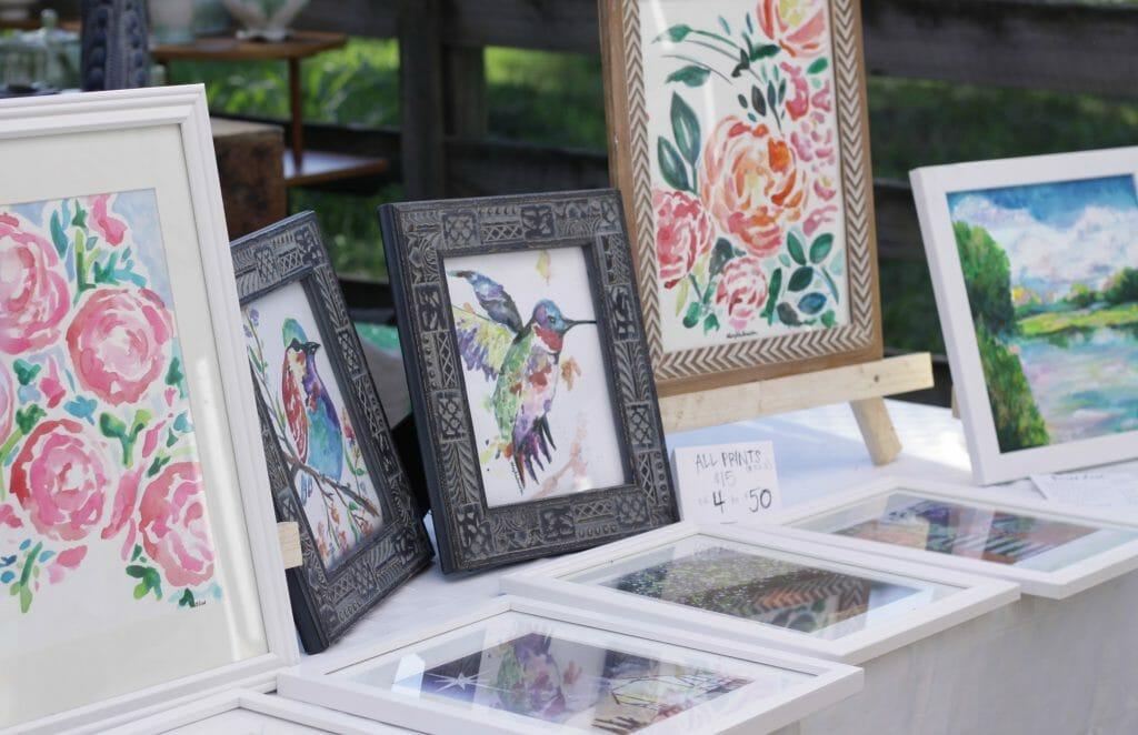 art prints at nest fest