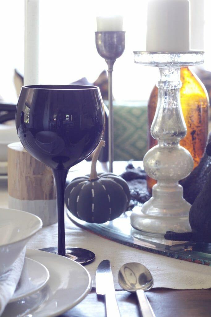 Black Goblets for Halloween