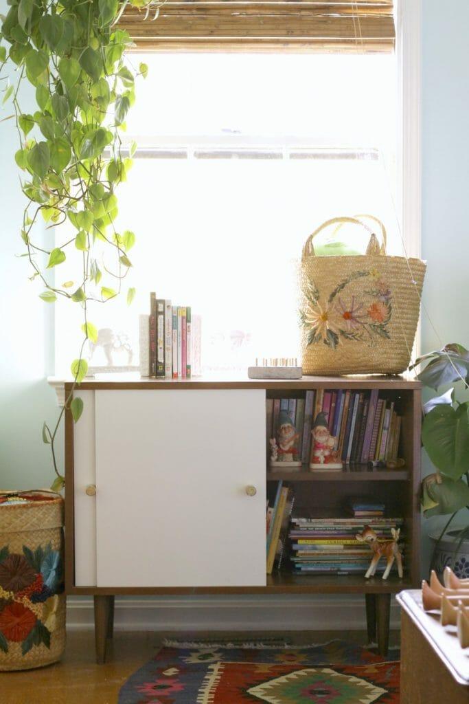 Midcentury Bookcase with New Doors