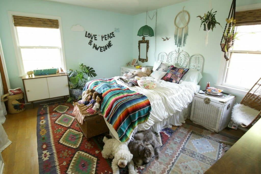 aqua-bohemian-kids-room-progress