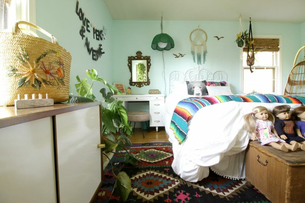 Girls Boho Bedroom