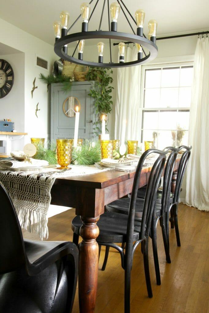 Vintage Modern Farmhouse Dining Room