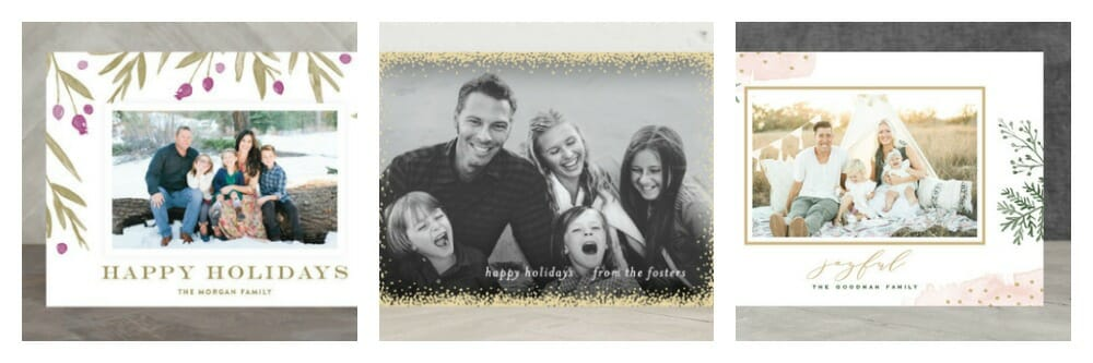 Romantic Holiday Card Options from Minted