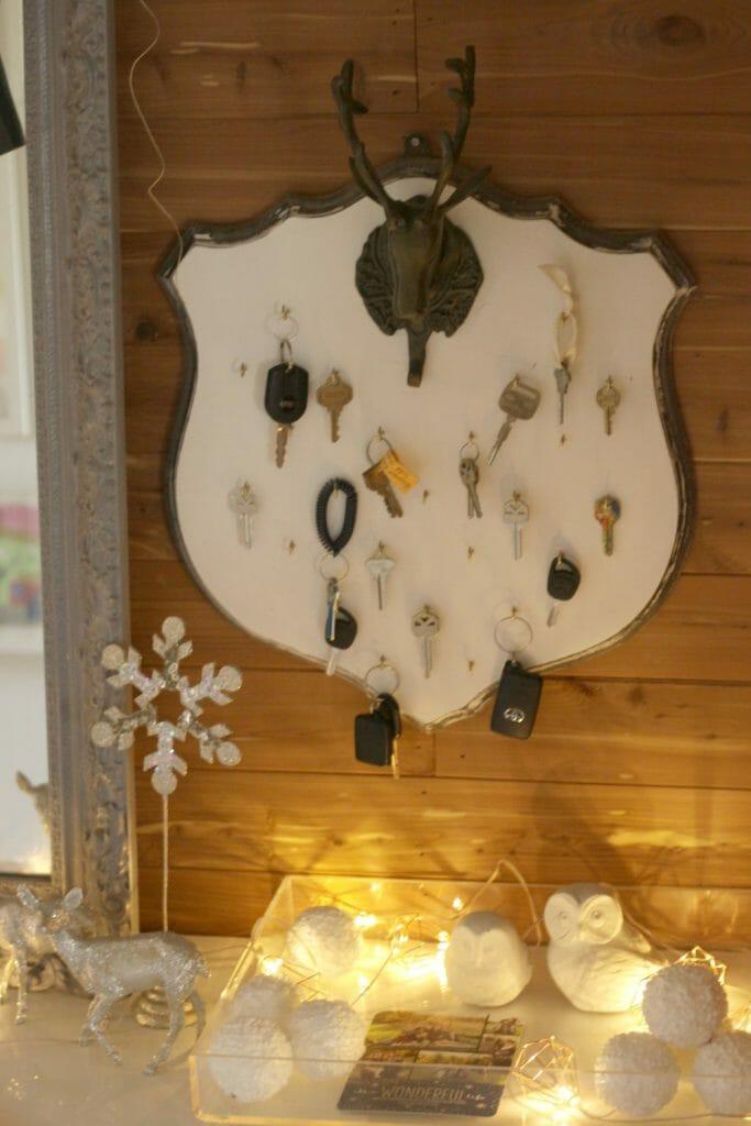 Christmas Card Collector Tray