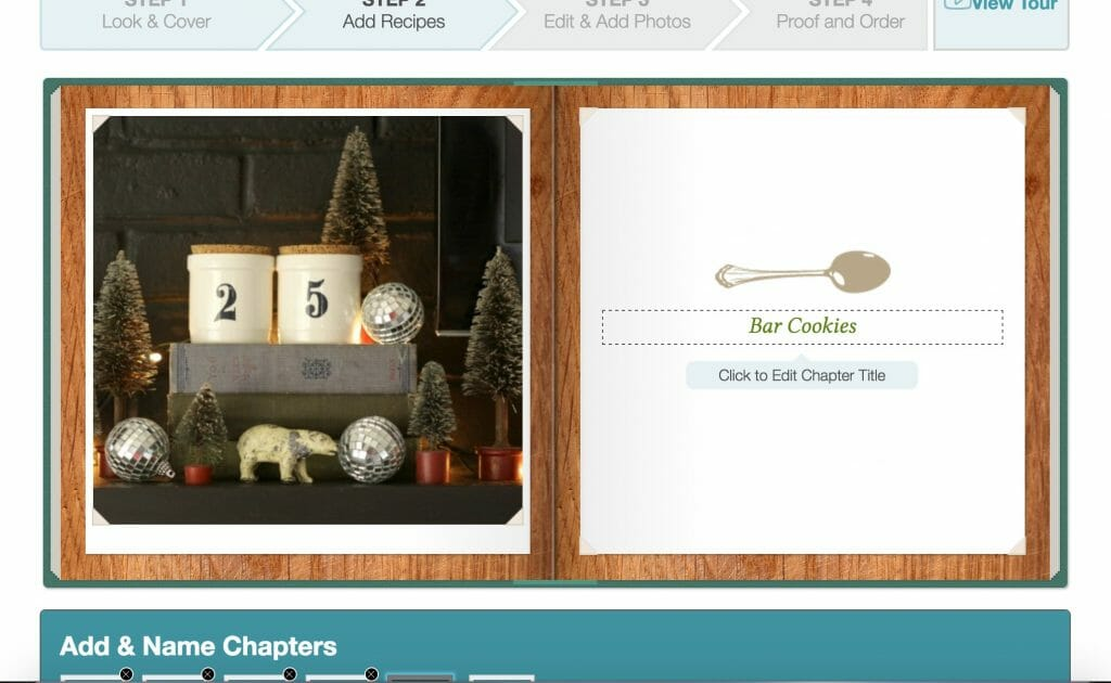 Cookbook Create Photo Adding