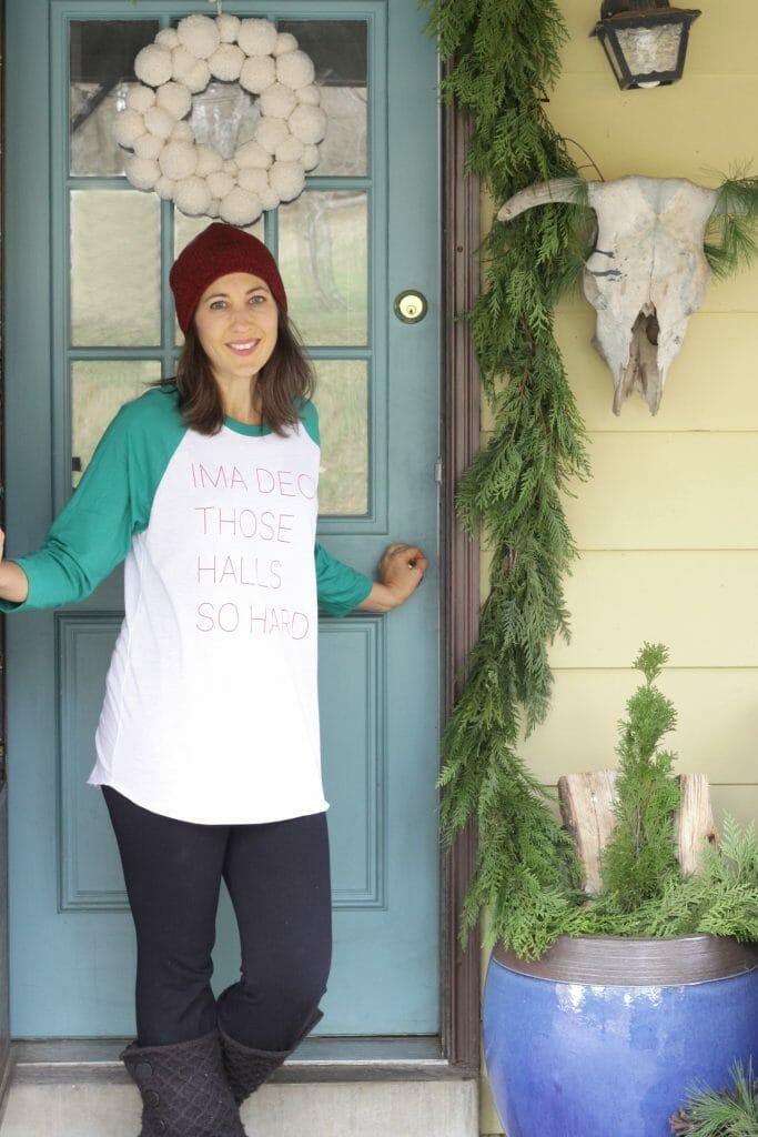 Christmas Porch Tour- Boho & Eclectic