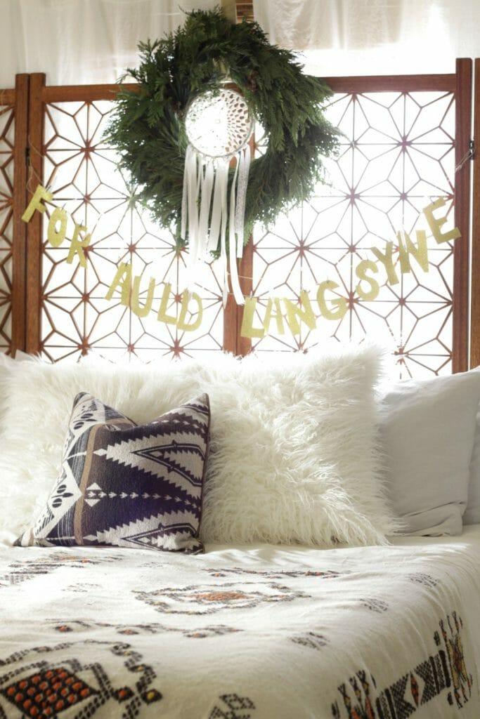Wreath with Dreamcatcher