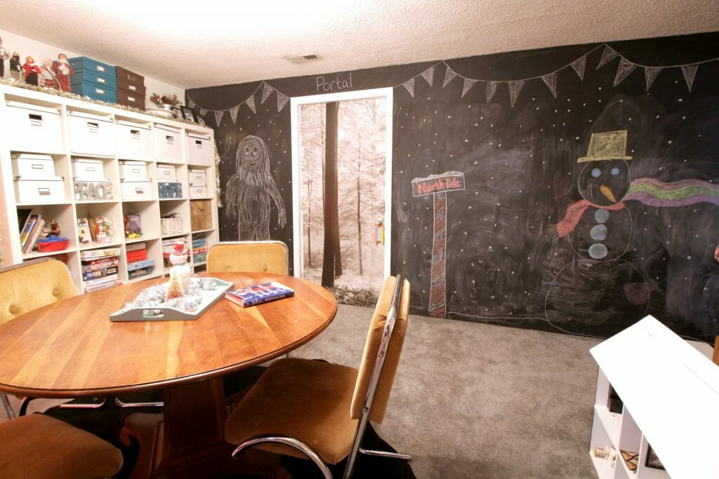 Playroom Christmas Chalkboard