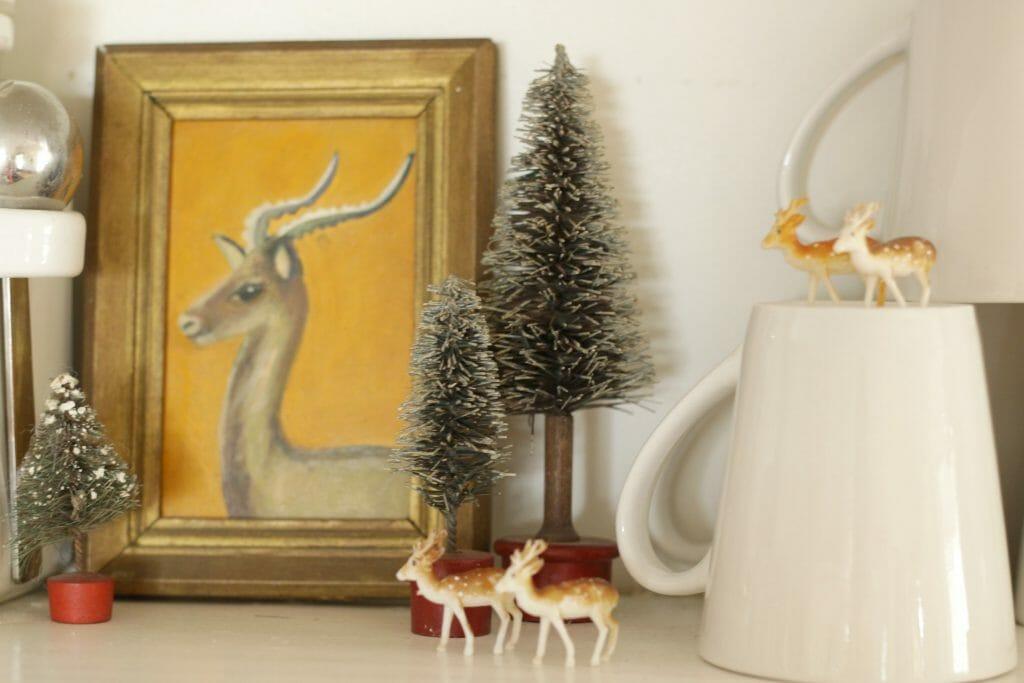 vintage-miniature-deer-christmas-decor