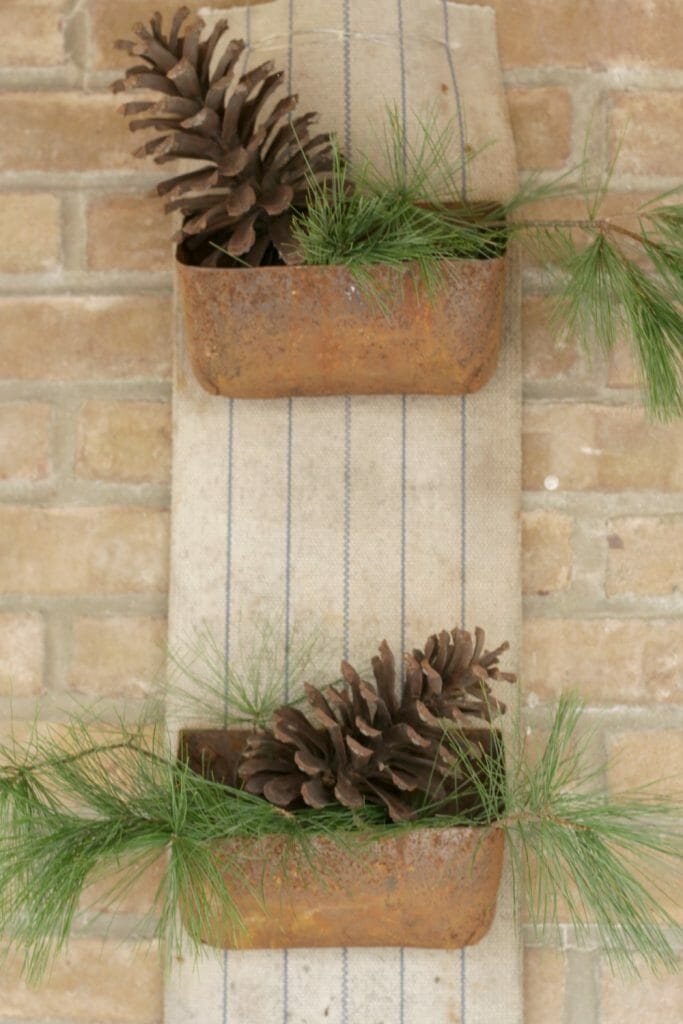 Upcycled Christmas Decor