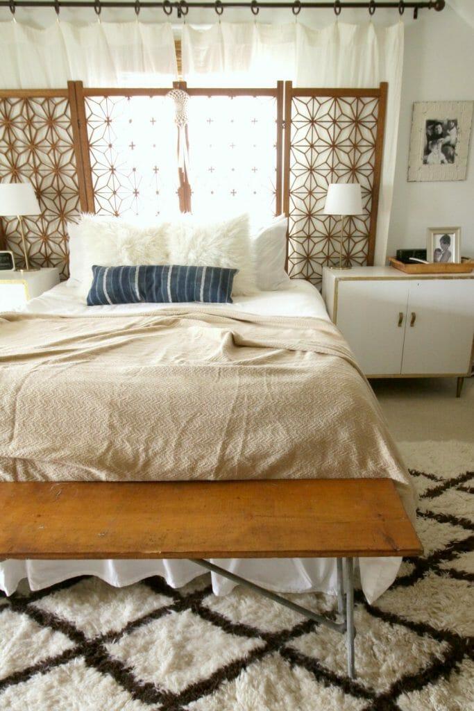 Bohemian Neutral Bedroom