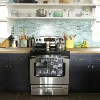 Kitchen Updates: New Hardware & Stools for a Modern Organic