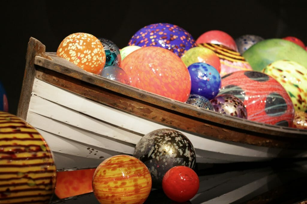 Chihuly Glass- Canoe
