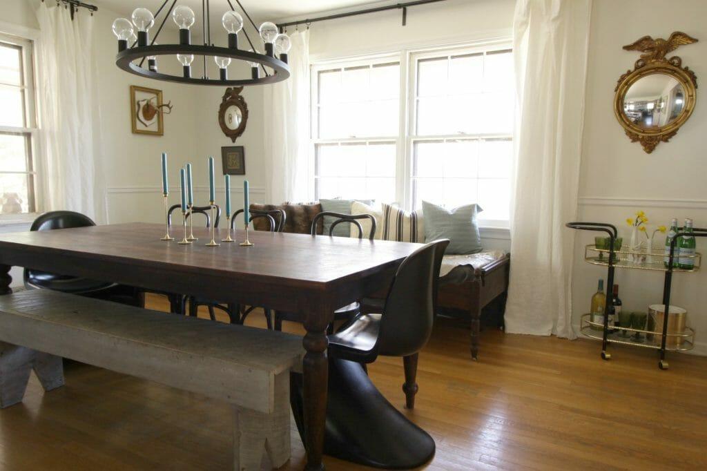 Vintage Modern Dining Room