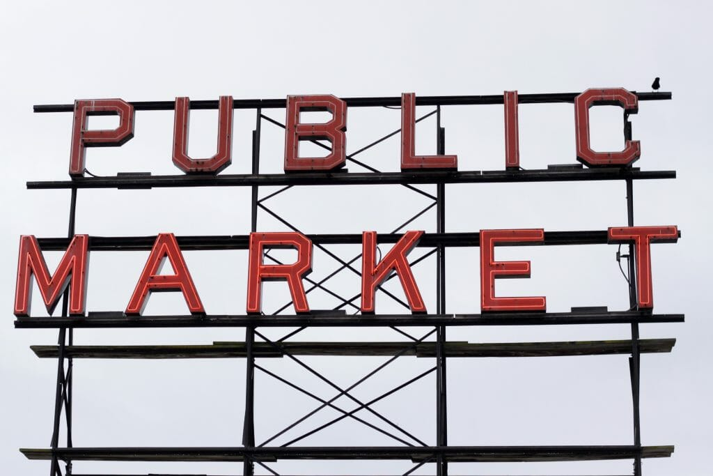 Pike Place Sign