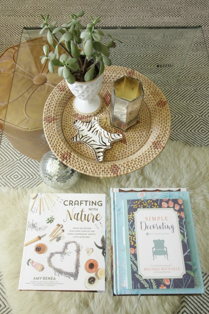Coffee Table Styling for Spring