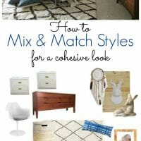 Mix, Match, Coordinate to Create Individual Style
