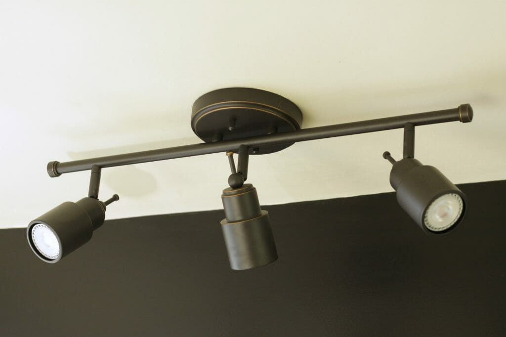track Style Lighting from Home Depot