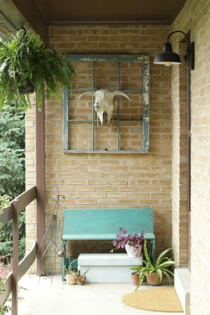 Boho Style Porch Summer Entry