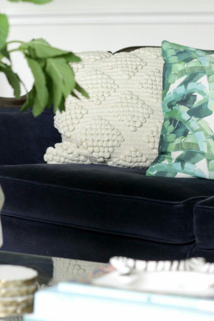 Tropical Boho Pillow Combination