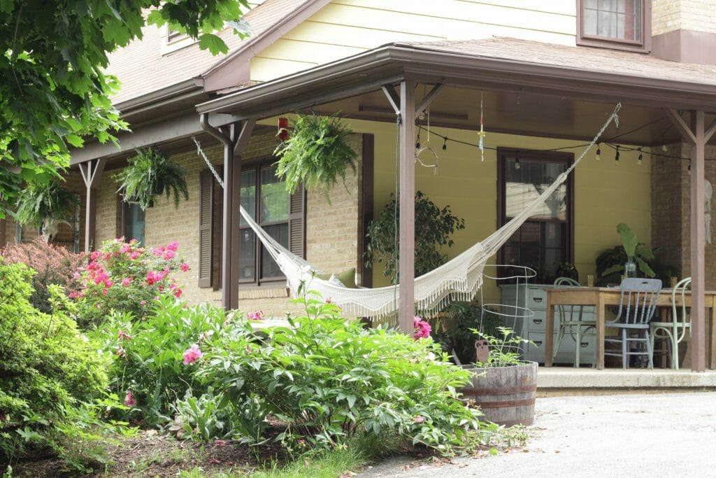 Wraparound Summer Boho Style Porch