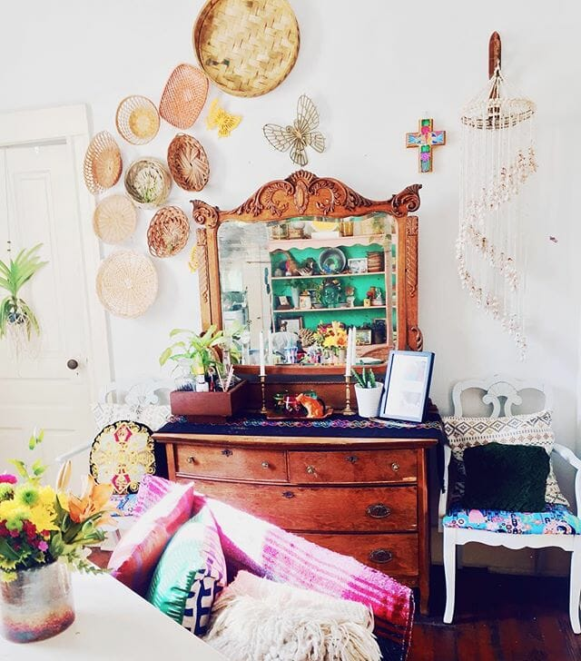 The Thrifty Hippie eclectic home