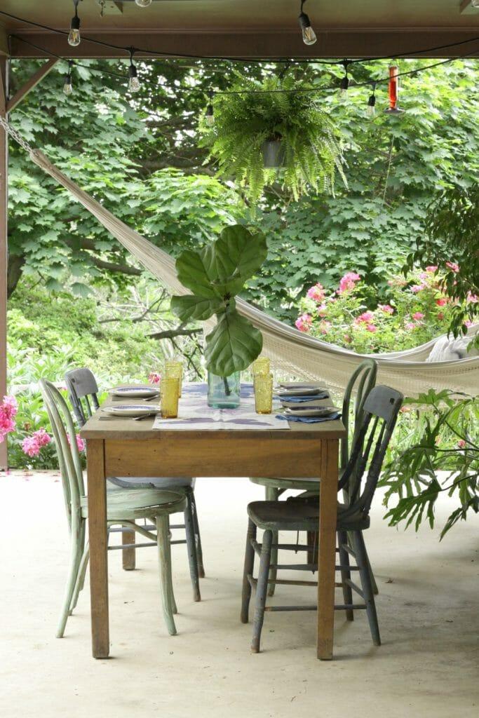 Boho Porch Dining Table