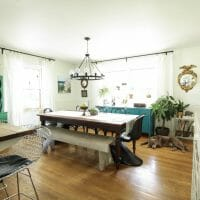 Fall Home Tour: Kitchen & Dining Room (and a new to me hutch