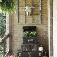 Fall Home Tour: Vintage Style Porch